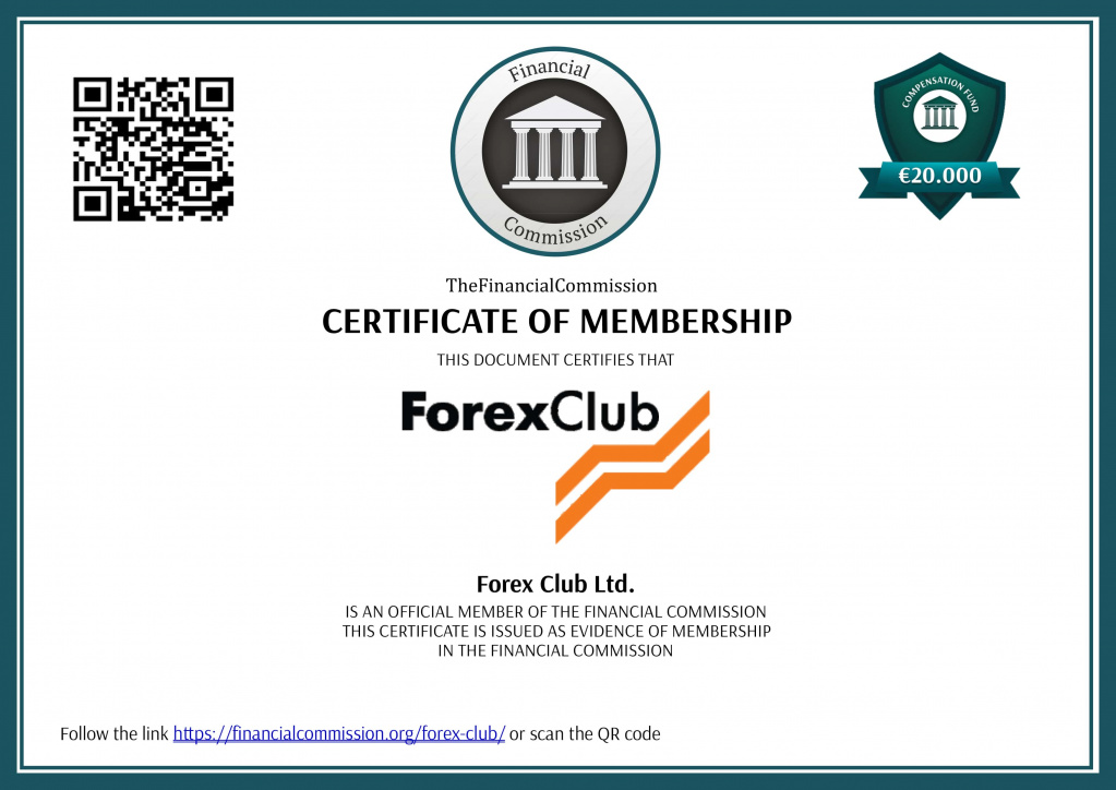 Forex-Club - Лицензия Financial Commission